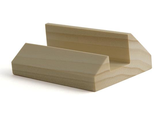 CARD-STAND B(名刺・ショップカード用スタンド) ポプラ材