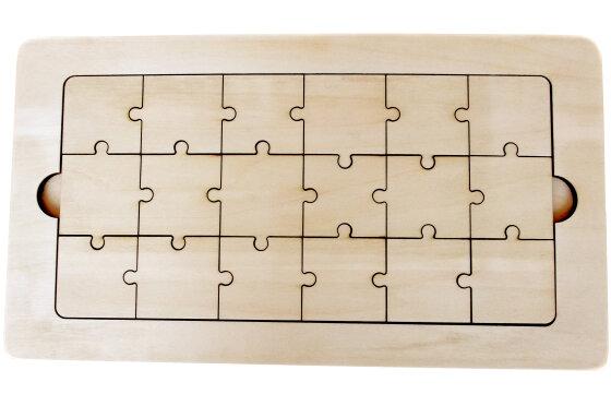 木のらくがきジグソーパズル 18ピース