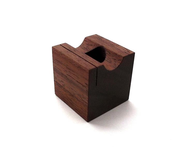 ONE-PEN-STAND ブラックウォルナット材(1本用木製ペンスタンド)